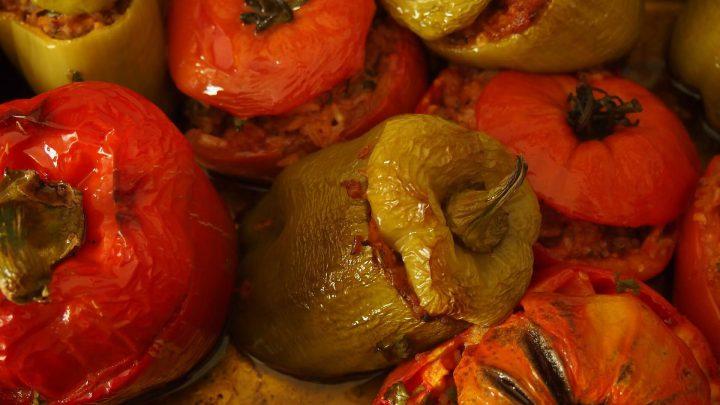 Pomidory nadziewane jajkiem