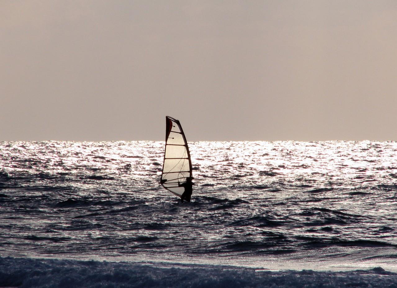 Czy chcemy się zapisać na kurs windsurfingu?